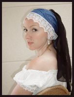 Girl with the pearl earring 2 by Lisajen-stock