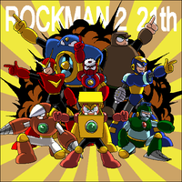 ROCKMAN2 21th by pain-v