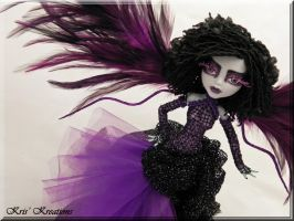 *Lita* 4th fairy in my Gothic Diva Fairy Series by KrisKreations