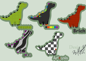 Point adopts- Dinosawrs by Kanbhik