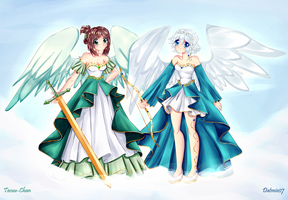 Heavens angels! ~ Collab by dathie