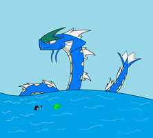 The Gyarados by 115spartan