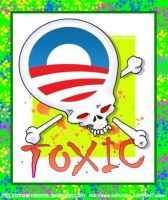 Toxic Obama Logo by Conservatoons