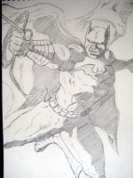 Caped Crusader by steverthanever