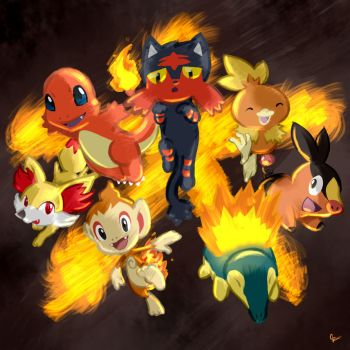 The Fire Starters! by GenerallPedro