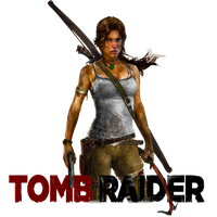 Tomb Raider Icon v2 by Ni8crawler