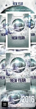 New Year Flyer/Poster Vol.1 by another-graphic