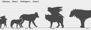 Species Size Chart by Blue-Storm-Spirit