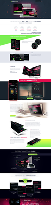 Landingpage about CSGOTRADE.IT/about by trkwebdesign