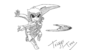 The Legend of Zelda: Link's Boomerang! by TriggerTrav