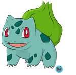 001 bulbasaur by Blue-Diamond-Shadow
