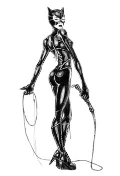 Catwoman by Antu
