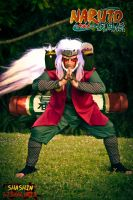 Jiraiya Cosplay edit!!!!!! by Soniclinx
