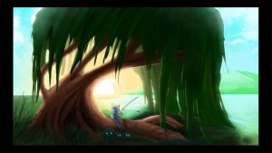 Animation background sample2 by riazkhan