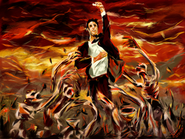 Escape from Hell Constantine by Rommeu