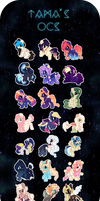 MLP OC List 2.0 by Picklesquidly