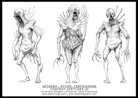 TERPSIKHORE - Concept Sketches 02 by AustenMengler
