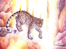 Amur Leopard by autumnjaguar