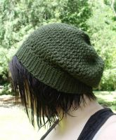 Hipster Hat in Moss 1 by LiebeTacos