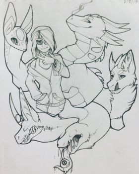 Traditional Doodle by Dredorida