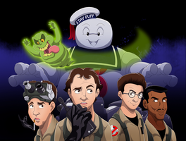 Ghostbusters 30th Anniversary Tribute by WhiteLionWarrior