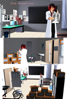 ~Dark Hospital Room DL~ by KingdomHeartsNickey