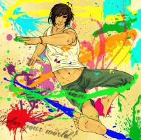 APH: Colour Assault by LaniWonderzWhy