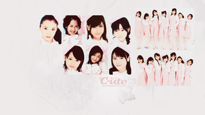 C-ute Wallpaper 2 by BeforeIDecay1996