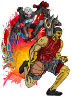 Basketball Player by andry2fast