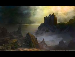 Environment sketch 9 finished by Lyno3ghe