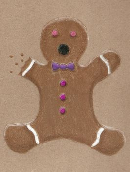 Gingerbread man by TelevisionBox