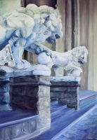 lions from Firenze by esire
