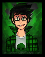 HS: Page in Green by CluelessCaptain