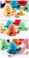 Sqeedee - Amigurumi Squid by pocket-sushi