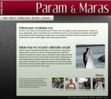 Wedding Website Layout 2 by SD-Designs