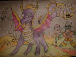 Spyro the Dragon by DansNotPro