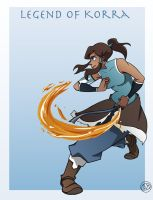 Korra the Avatar by junketeer
