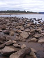 Close Up Rocks n Water 3 by Gracies-Stock
