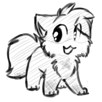 Sketch kitty Sketch -Commish- by Spottedfire-cat