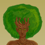 Dryad Bust by The-Greys