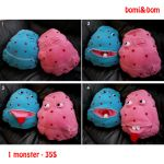 Bomi and Bom. Interactive toys by MonstersLand