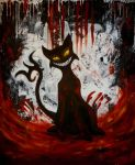 Cat Demon by elilith666