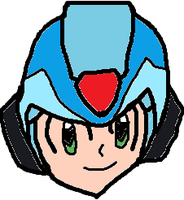 Megaman X Head by tanlisette