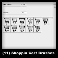 11 Shopping Cart Brushes by psologist