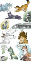 iscribble critter compilation by tajniwolf