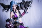 League of Legends: Jinx Smiles by SilentCircus90