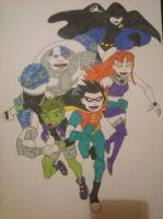 Teen Titans by Elizabeth9330