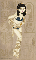 Pin-up Monsters - Mummy Girl by Ladymalk