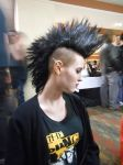 sometimes Belinda takes nice pictures of my mohawk by Grellfan121