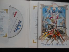 Suikoden V CD and Artbook by SapphireAngelBunny